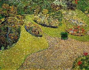 Vincent Van Gogh - Garden in Auvers