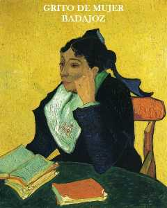 Vincent Van Gogh - Madame Ginoux with Books