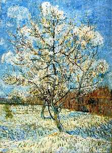 Vincent Van Gogh - Peach Tree in Blossom