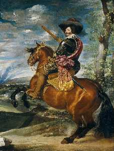 Diego Velazquez - Count-Duke of Olivares on Horseback