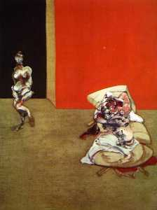 Francis Bacon - crucifixion, 1965 left