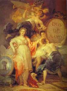 Francisco De Goya - Allegory of the City of Madrid
