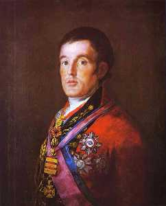 Francisco De Goya - Portrait of the Duke of W..