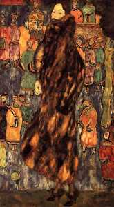Gustav Klimt - Polecat Fur, The(unfinished)