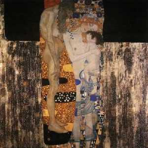 Gustav Klimt - Three Ages of Woman, The, 1905 - Private collection