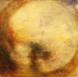 William Turner - The Morning after the Del..