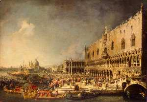 Giovanni Antonio Canal (C.. - The Reception of the Fren..