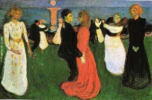 Edvard Munch - The Dance of Life