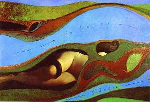 Max Ernst - The Garden of France