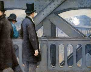 Gustave Caillebotte - The Pont de Europe