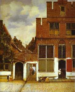 Jan Vermeer - Street in Delfi