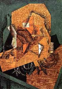 Juan Gris - The Packet of Coffee