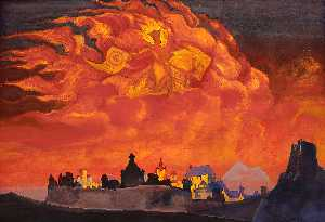 Nicholas Roerich - Saint Sophia the Almighty..