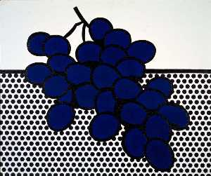 Roy Lichtenstein - Blue Grapes