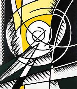 Roy Lichtenstein - The Atom