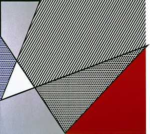 Roy Lichtenstein - Imperfect Painting