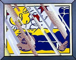 Roy Lichtenstein - Reflections Wimpy II