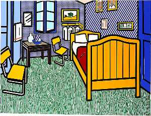 Roy Lichtenstein - Bedroom at Arles