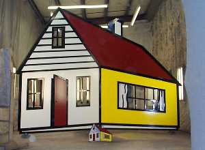 Roy Lichtenstein - House III