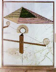 Marcel Duchamp - To be looked at (from the Other Side of the Glass) with One Eye, Close to, for Almost an Hour