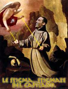 Francisco Zurbaran - St Francis of Assisi Rece..