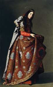 Francisco Zurbaran - St. Casilda