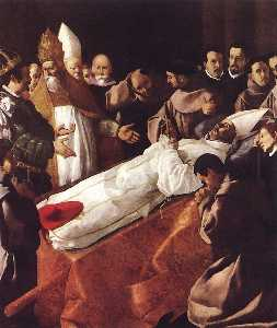 Francisco Zurbaran - The Death of St. Bonavent..