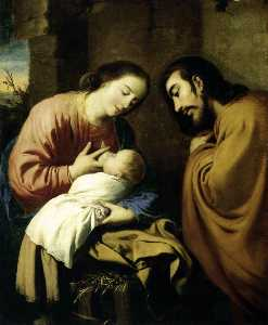 Francisco Zurbaran - The Holy Family