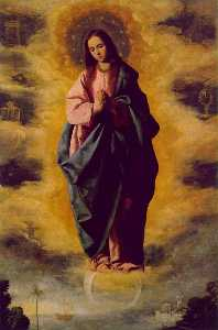 Francisco Zurbaran - The Immaculate Conception..