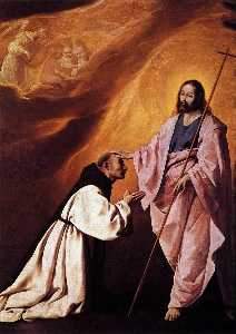 Francisco Zurbaran - Vision of Brother Andrés ..