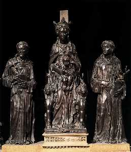 Donatello - Madonna and Child between..