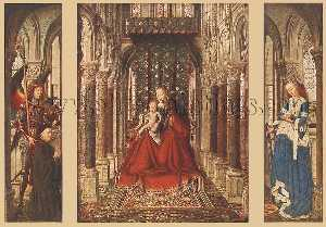 Jan Van Eyck - Small Triptych1