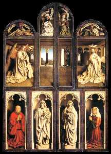 Jan Van Eyck - The Ghent Altarpiece (win..