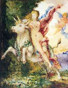 Gustave Moreau - Europa and the Bull