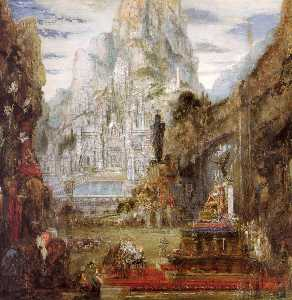 Gustave Moreau - The Triumph of Alexander ..