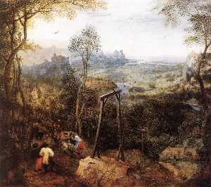 Pieter Bruegel The Elder - Magpie on the Gallow