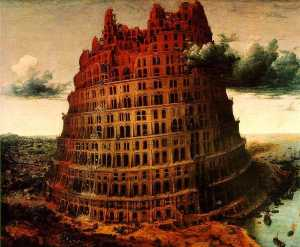 Pieter Bruegel The Elder - The \Little\'' Tower of B..