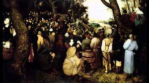 Pieter Bruegel The Elder - The Sermon of St. John the Baptist