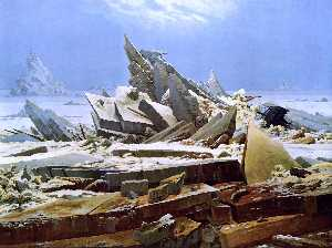Caspar David Friedrich - The Sea of Ice