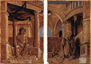 Hans Holbein The Younger - Diptych with Christ and the Mater Dolorosa