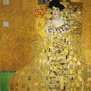 Gustav Klimt - Portrait of Adele Bloch-B..
