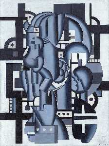 Fernand Leger - Composition in Blue