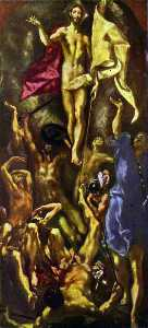 El Greco (Doménikos Theot.. - The Resurrection