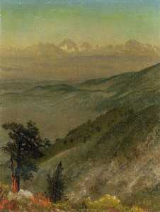 Albert Bierstadt - Wasatch Mountains