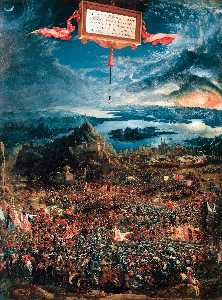 Albrecht Altdorfer - The Battle of Alexander a..