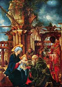 Albrecht Altdorfer - The Adoration of the Magi
