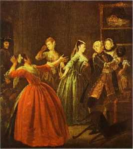 William Hogarth - The Theft of a Watch