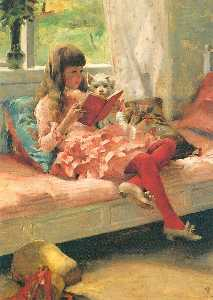 Albert Edelfelt - Good Friends