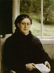 Albert Edelfelt - Picture of the mother of ..