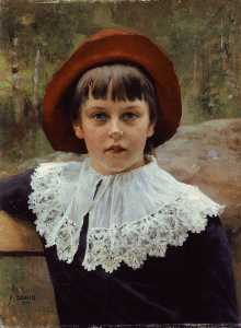 Albert Edelfelt - Portrait of the Artist's ..